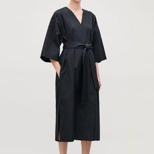 NWT COS Kimono Wrap Dress